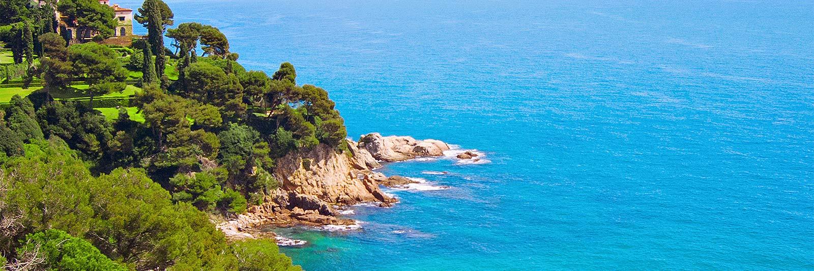 Fastenwandern am Meer in Spanien - Blick aufs Meer