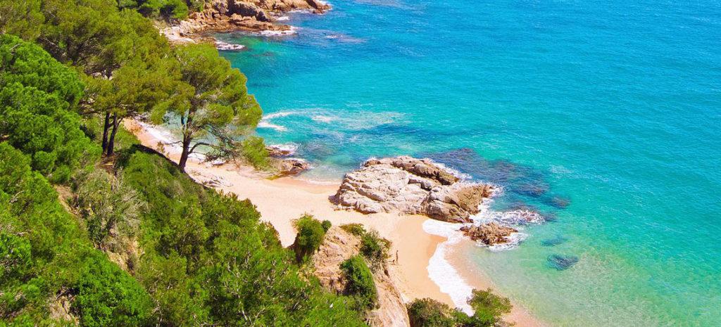 Bucht Fastenwandern an der Costa Brava