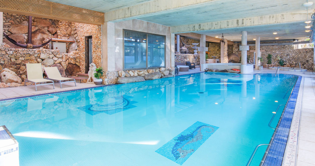 Indoor Pool Hotel Port Salvi